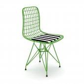 Knsz kafes tel sandalyesi 1 li mazlum yşltuan ofis cafe bahçe mutfak