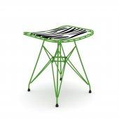 Knsz kafes tel sandalyesi taburesi 1 li mutlu yşlbonar ofis cafe bahçe mutfak