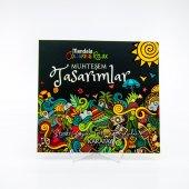 72 Sayfa Mandala Kollektif Boyama Kitabı Muhteşem Tasarımlar