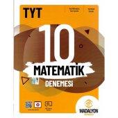 Madalyon 2020 TYT Matematik Denemesi 10 lu