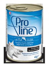 Proline Balıklı Yetişkin Kedi Konservesi (Yaş Mama)-415gr-20adet