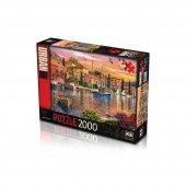 Ks Puzzle 2000 Prç Harbour Sunset