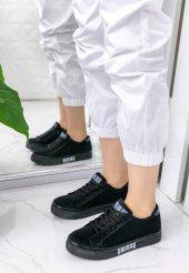 Seny Siyah Süet Spor Ayakkabı