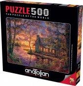 Anatolian Puzzle500 Pcsgizli Yer Hiding Place