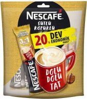 Nescafe 3 Ü 1 Arada Sütlü Köpüklü 20 Li Paket...