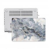 Macbook Air Kılıf Hard Case A1369 A1466 13 İnç Uyumlu Özel Tasarım Özel Kutulu Marble 07nl