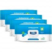 Deep Fresh Antibakteriyel Islak Mendil - 100 Yaprak 4'lü Set