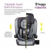 Huggy Robofix 9-36 Kg İsofixli Katlanabilir Oto Koltuğu-4