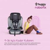 Huggy Robofix 9-36 Kg İsofixli Katlanabilir Oto Koltuğu-5
