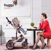Huggy Queen 2 İn 1 Mono Bebek Arabası-6