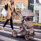 Huggy Queen 2 İn 1 Mono Bebek Arabası-9