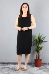 Günay Kadın Elbise Nly1913015 İlkbahar Yaz Askılı Spor-SIYAH