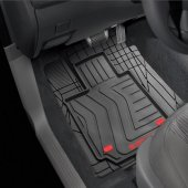 Audi A3 3D Havuzlu Kauçuk Altı Cırtlı Paspas