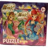 Winx Lisanslı Puzzle 130 Parça Degar Çocuk Yapboz