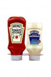 Heinz Ketçap 460 G +mayonez 400 G İkili Set
