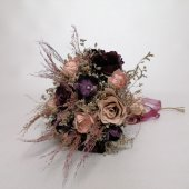 Gelin Buketi Gelin Çiçeği Yapay Çiçek Kuru Şoklanmış Cipso Başak