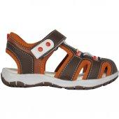 Fibinacci 00041 Kahve Ortopedik Erkek Çocuk Sandalet Ayakkabı