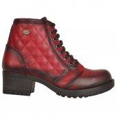 Mp 172-4484 Bağcıklı Fermuarlı Termal Bayan Kısa Bot Ayakkabı