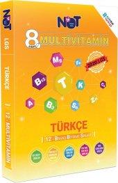 8.sınıf Lgs 1.dönem Türkçe Multivitamin 12 Branş Bitirme Sınavı Bi Not Yayınları