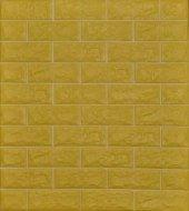 Nw19 Altın Sarısı Derz Araları Çizgili Kendinden Yapışkanlı 3d Dekoratif Duvar Paneli