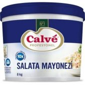Calve Salata Mayonezi 8 Kg