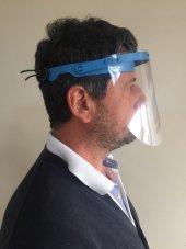 Yüz Göz Koruyucu Şeffaf Siperlik Kalkanı Gözlük Vizör Maskesi-2