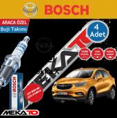 Bosch Opel Mokka X (1.4) Çift İridyum (2013 2019) Buji Takımı 4 Ad.