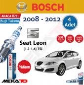 Bosch Seat Leon (1.2 1.4) Tsı İridyum (2089 2012) Buji Takımı 4 Ad.
