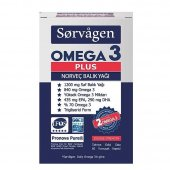 Sorvagen Omega 3 Plus Norveç Balık Yağı 60...