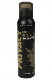 Privacy Man Gold Sensation Deodorant 150 Ml