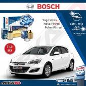 Opel Astra J 1.4 3 Lü Bosch Filtre Seti 2009 2015
