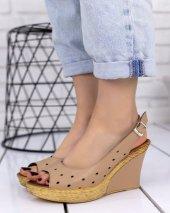 Martina Vizon Cilt Dolgu Topuk Ayakkabı