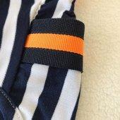 Navy Stripes orange Atlet Köpek Kıyafeti  Köpek Elbisesi-9