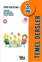 Açı Yayınları 3 Sınıf Konu Anlatım Kitabı