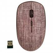 Classone T89 Fabric 2.4 Ghz Kumaş Desen Kablosuz Gri Mouse