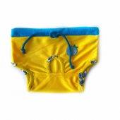 Yellow Blue Apple Secret Köpek İç Çamaşırı Regl Külot Don-3
