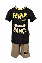 Fenerbahçe Fenerium Angry Birds Erkek Çocuk Kapri Pijama Takımı
