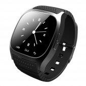 Smart Watch M26 Akıllı Saat Samsung Lg Sony Htc Uyumlu Siyah