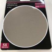 Vantuzlu Büyük Boy 5x Zoom Makyaj Aynası 13a