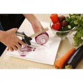 Clever Cutter Doğrama Bıçağı Kesme Tahtalı Mutfak Makası, Kesme Doğrama