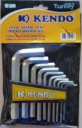 Kendo Alyan Seti Allen Takımı 10lu Eko Set