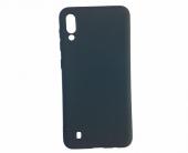 For Samsung Galaxy M10 Siyah Rubber Silikon Kılıf
