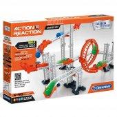 Clementoni Action Reaction Starter Set Modüler Top Yolu Oyunu 64953