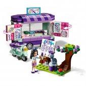 Lego Friends 41332 Emmanın Sanat Standı-4