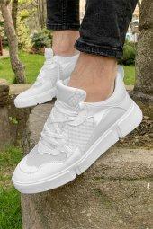 2020 Conteyner (320.02) Beyaz Fileli Günlük Spor Ayakkabı