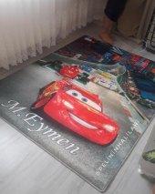 Elenist Şimşek Araba Trafik Desen Kaymaz Taban Çocuk Oyun Halısı