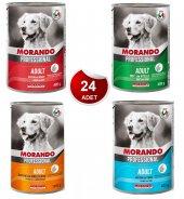 Morando Karışık Köpek Konserve 24 Adet