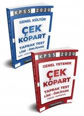 Benim Hocam Yayınları 2020 Lise Önlisans Gy Gk Çek Kopart Yaprak Test Seti
