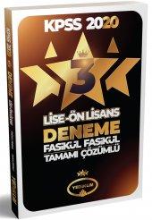 2020 Kpss Lise Önlisans 3 Fasikül Deneme Yediiklim Yayınları