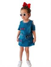 Rapapa Kız Çocuk Trend Muhteşem Elbise 2805